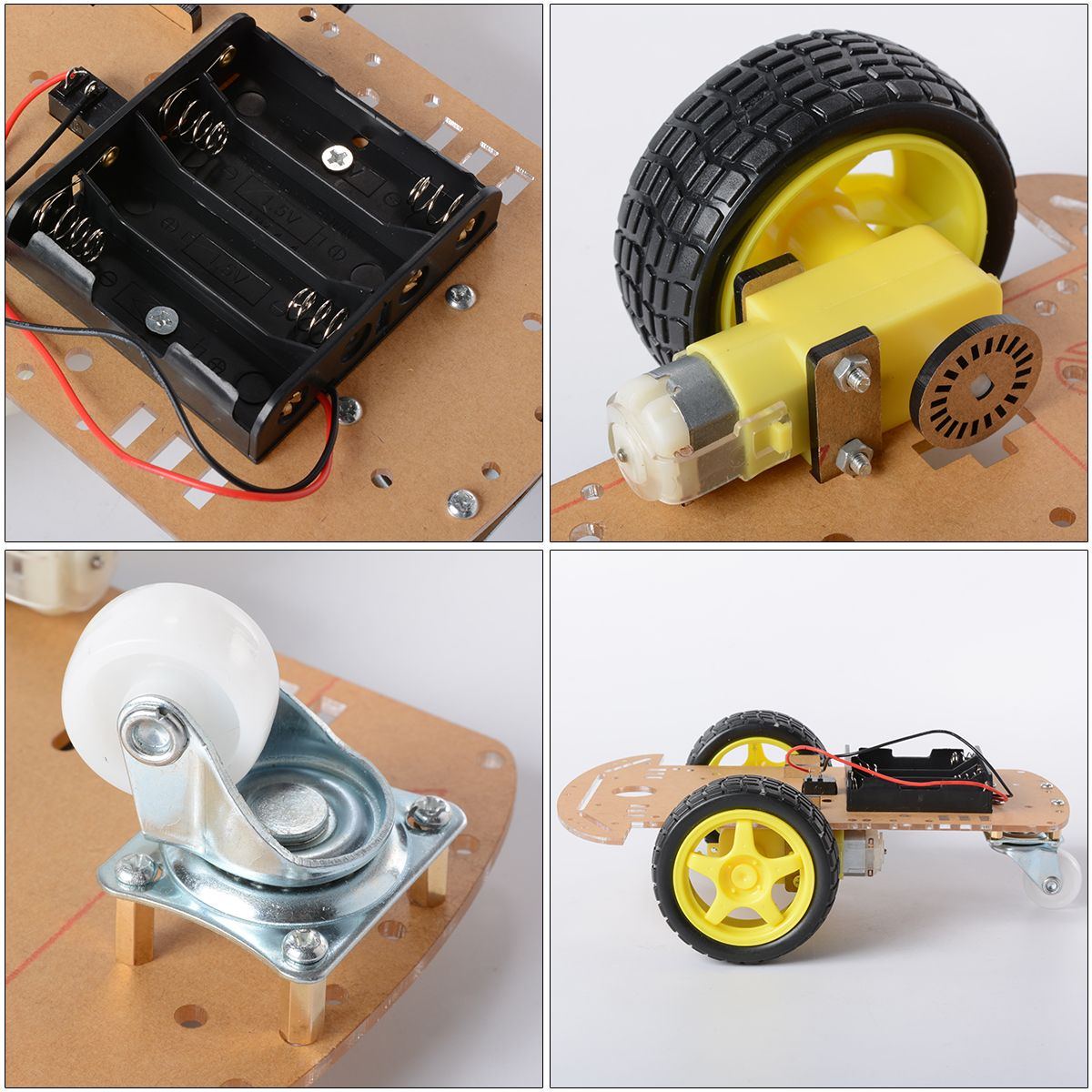 Robot Chassis Kit for arduino