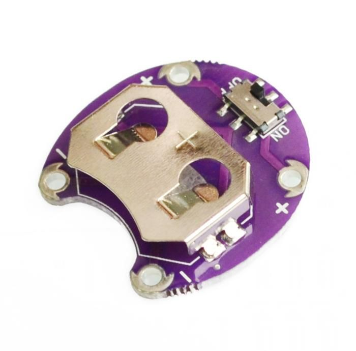 LilyPad Coin Cell Battery Holder CR2032