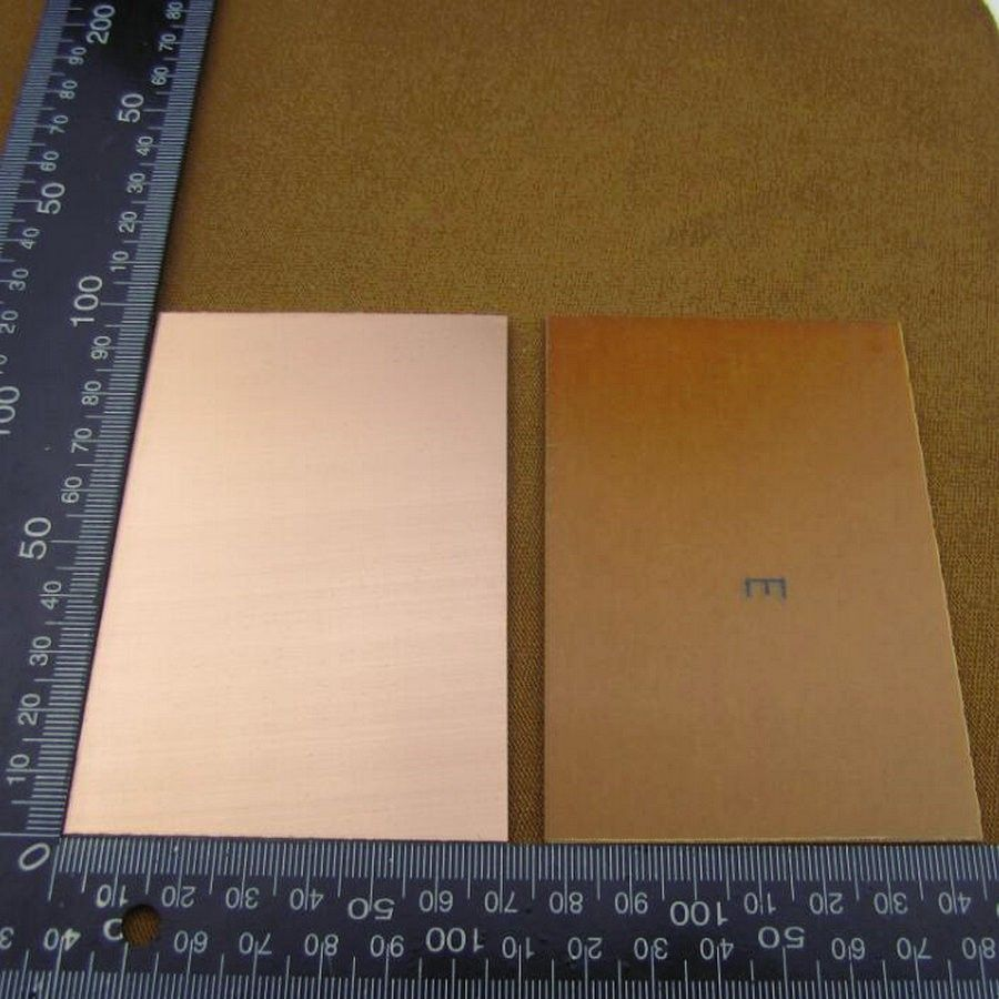 Blank PCB single sided 70 x 100 x 1.5mm