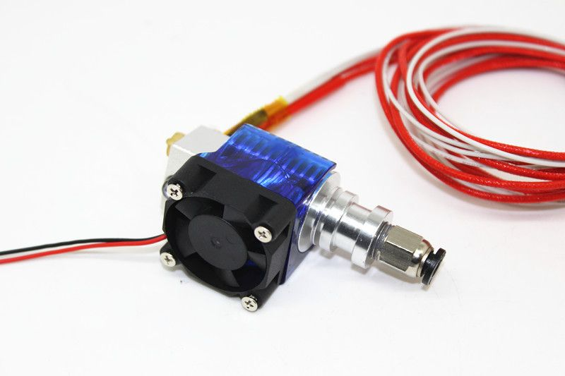 Jhead J-head Hotend for 1.75mm Direct Drive + Fan and assembly + Bowden Tube + heater + Temp